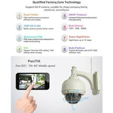 IP Camera Dome IR Night Vision WiFi IR-Cut Outdoor Security Cam TOP LE