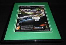 Amped 2 2003 XBox Framed 11x14 ORIGINAL Advertisement