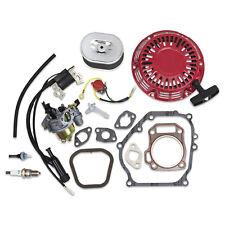 Kit For Honda GX200 Carburetor Air Filter Recoil Ignition Coil Gaskets Fuel Hose