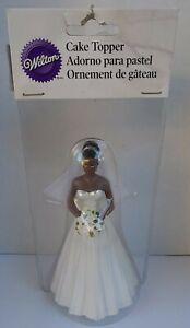 Wilton Wedding Cake Bride Topper Black African American