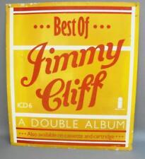 Rare JIMMY CLIFF Tin & Enamel Sign/Billboard - Island Records 1975