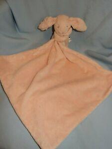"JellyCat Pink Lovey Blanket Bunny Rabbit 12"""