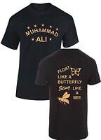 Muhammad Ali Float Like Butterfly T shirt Boxing Legend Champion mens kids tee