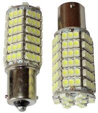 2x Ampoules 24V P21W R10W R5W 120LED SMD blanc pour camion semi-remorque portail