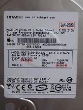 640gb Hitachi hde721064sla330 | 0a39991 | MLC: ba3064 | jan-2009 pcb OK #210-213