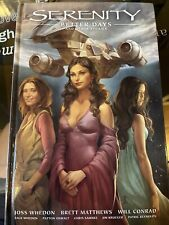 Serenity Better Days and Other Stories Vol 2 Hc Joss Whedon Firefly Class 03-K64
