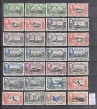 GB#  FALKLAND ISLANDS  SG.  146/162  */MH  HUGE CV