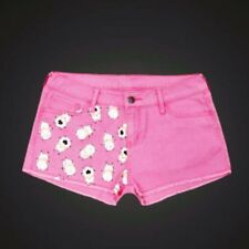 Bee and Puppycat New pink printed denim short