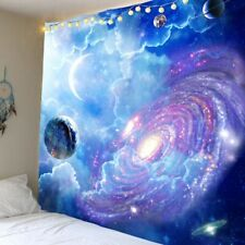 Wall Tapestry Art Psychedelic Galaxy Starry Sky Tapestry Wall Hanging Tapestry