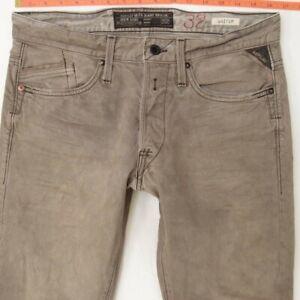 Mens Replay M983 WAITOM Regular Slim Grey Jeans W32 L32