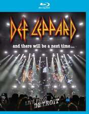 Def Leppard - Y There Voluntad Ser Un Próximo Tiempo Live From Detroit Blu-Ray