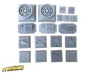 TTCombat – INHRA001 – Ventilation Set