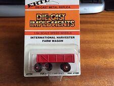 ERTL #1755 1/64 Scale International Harvester Farm Wagon - Blister Pack