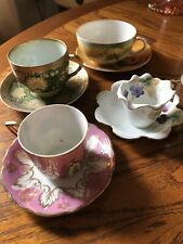 vintage tea cup and saucer sets japan