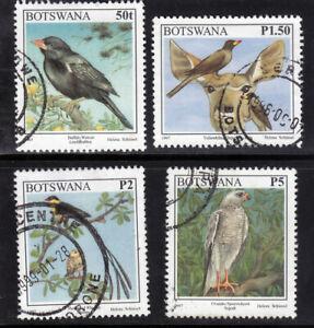 Botswana 1997 SG859 865 866 868 Used