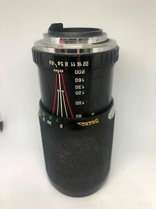 Soligor Macro 80-200mm f/4.5 Vintage MC Lens No. 38019016   PK Mount