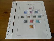 GB QEII affrancatura diritti 1982 Set (marginale unmounted Nuovo di zecca)