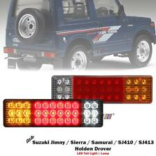 NEW Pair Of 12V LED Rear Tail Light For Suzuki Jimny Sierra SJ410 SJ413 1982-98