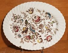 "Johnson Brothers STAFFORDSHIRE BOUQUET 13"" Oval Serving platter, Excellent"