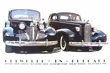 Harold James Cleworth Autographed 1983 Chicago Auto Show 1939 Cadillac - 1937