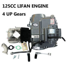 LIFAN 125cc 4UP Gear Manual Clutch Engine Motor Dirt Pit Bike Atomik Thumpstar