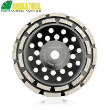 "1 piece 7"" Diamond Double Row Grinding Cup Wheel Disc 180MM for Concrete Marble"