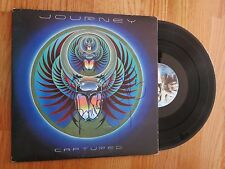 GREGG ROLIE & JONATHAN CAIN of JOURNEY signed 1981 CAPTURED Record / Album COA