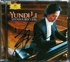 YUNDI LI Signiert VIENNA RECITAL Schumann Mozart Scarlatti Liszt DG CD Carnaval