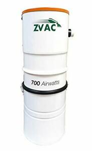 ZVac Central Vacuum System with 700 Air watts 26.5 L Tank Capacity Power Unit...