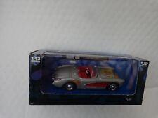 CORGI NEWRAY XTREME MACHINES 1:43 - CLASSIC 1957 CHEVROLET CORVETTE GREY CAR