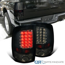 For 09-18 Ram 1500 10-18 2500 3500 Glossy Black Tail Lights Brake Rear Lamps