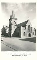 PERTH – Saint John's Kirk of Perth West Porch, Halkerston Tower RPPC – Scotland