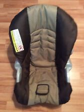 Graco 32 34 SnugRide Baby Car Seat Cushion Cover Part Replacement Brown Beige