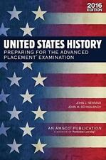United States History: Preparing for the Advanced Placement Examination 2015 Ex