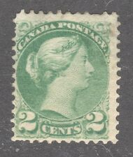 CANADA STAMP #36 ----2c SMALL QUEEN - 1872 - UNUSED