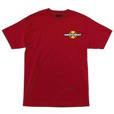 Independent Trucks 78 B/C Chest Skateboard T Shirt Red Medium