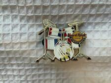 Hard Rock Cafe Pin Myrtle Beach - Red White & Blue Armed Forces Drum Set