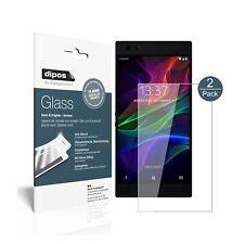 2x Razer Phone Protector de Pantalla Vidrio Flexible Cristal Proteccion 9H dipos