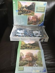 Ravensburger Riverside Retreats 2 x 500 Pc Jigsaw Puzzles 🧩Alexander Sheridan