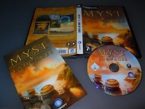 Myst V 5 ; End Of Ages (PC: Mac 2005) - ORIGINAL UK Version with manual VGC