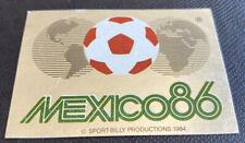 1986 PANINI MEXICO 86 ORIGINAL UNUSED EMBLEM  BADGE STICKER #2