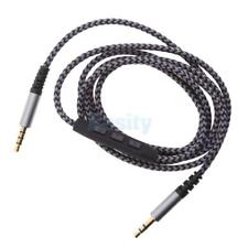 3.5mm Male Jack Plug Male to Male Stereo Audio Cable and Mic Volume Control