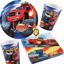 Blaze und die Monstermaschinen Partyset 52tlg. Teller Becher Servietten für 16 K
