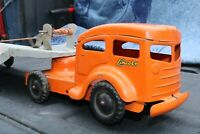 Lincoln Toy Equipment Hauler Truck - Canadian made - pressed steel