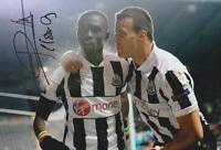 Papiss Cisse 8x12 Signed Newcastle Photo AFTAL/UACC RD