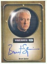 """BRENT SPINER """"BROTHER ADRIAN AUTOGRAPH CARD"""" WAREHOUSE 13 SEASON 4"""