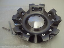 Platinum  wheel center cap (1)  89-9200HB  NEW  dark grey