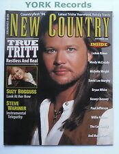 NEW COUNTRY MAGAZINE - September 1996 - Travis Tritt / Suzy Burgess