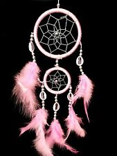 """Handmade Dream Catcher with feathers car or wall hanging decoration ornament-14"""""""