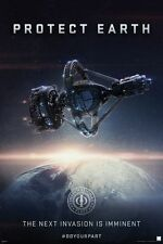 Ender's Game Protect Earth Movie Poster